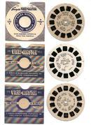 1940s HAWAII - THREE SINGLE VIEWMASTER REELS