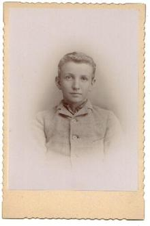 Photograph of a Very Young Boy