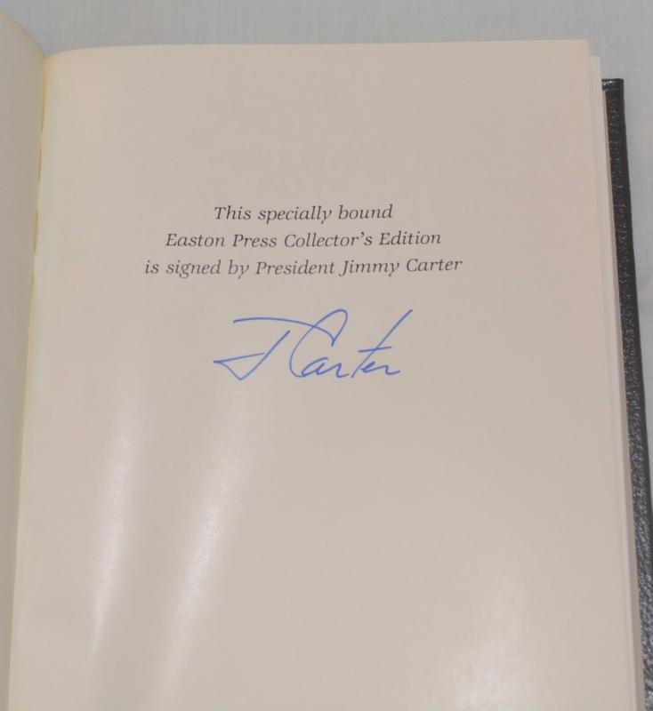 KEEPING FAITH BY PRESIDENT JIMMY CARTER - AUTOGRAPHED COPY!