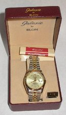 NEW IN BOX - ELGIN GALAXIE QUARTZ