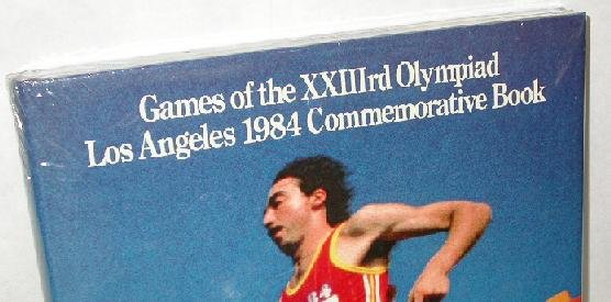 The Games of the Twenty-Third Olympiad : Los Angeles 1984 Commemorative Book