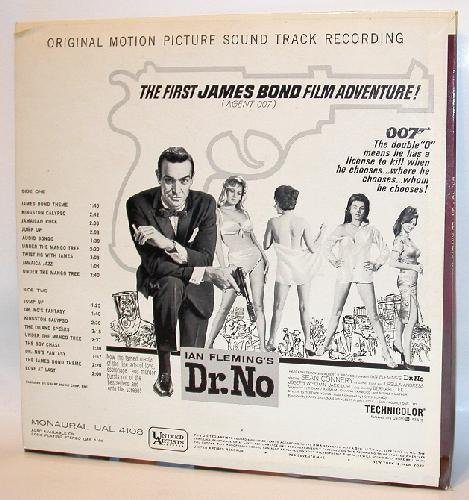 ORIGINAL VINYL RECORD - JAMES BOND