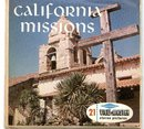 CALIFORNIA MISSIONS - SAN DIEGO TO SONOMA - VIEWMASTER 3 REEL SET