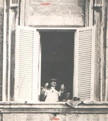GREAT HISTORICAL PHOTOGRAPH - 1929 POPE PIUS XI