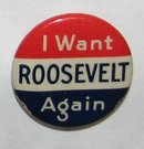 THREE FRANKLIN ROOSEVELT PINBACKS
