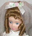BEAUTIFUL PORCELAIN BRIDE DOLL