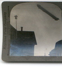 WORLD WAR I STEREOVIEW -
