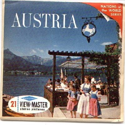 AUSTRIA - VIEWMASTER 3 PACK