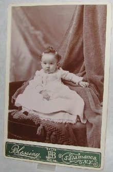 CUTE VICTORIAN BABY