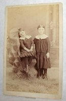 CABINET PHOTO OF VICTORIAN SISTERS