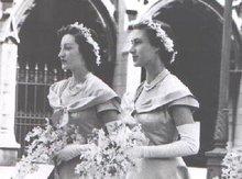 ENGLAND'S PRINCESS MARGARET -  ORIGINAL INTERNATIONAL NEWS PHOTO