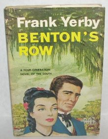 VINTAGE ROMANCE NOVEL - BENTON'S ROW