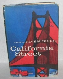 VINTAGE SUSPENSE NOVEL - CALIFORNIA STREET
