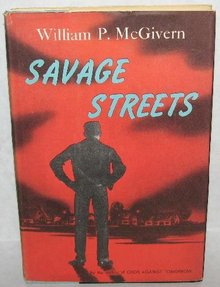 VINTAGE SUSPENSE NOVEL - SAVAGE STREETS