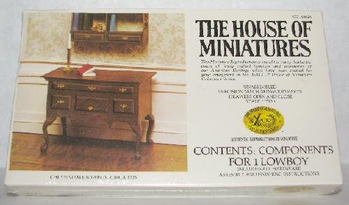 CHIPPENDALE LOWBOY BY HOUSE OF MINIATURES