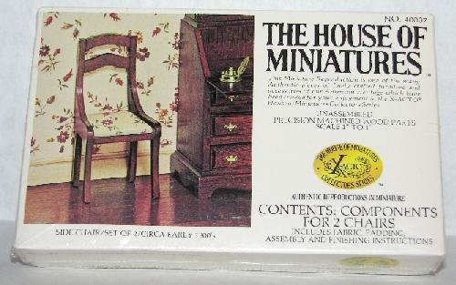 EMPIRE SIDE CHAIR BY HOUSE OF MINIATURES