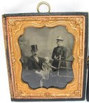 PAIR OF CASED TINTYPES