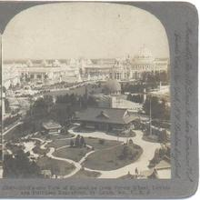 STEREOVIEW - LOUISIANA PURCHASE EXPOSITION