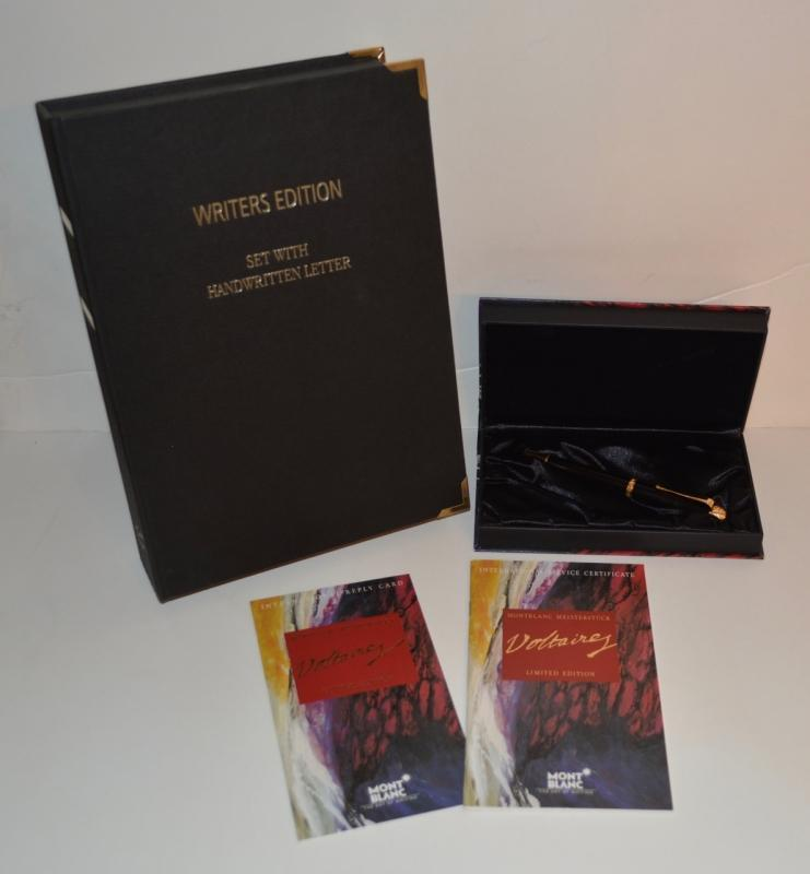 Mont Blanc Writers Edition Rollerball Pen
