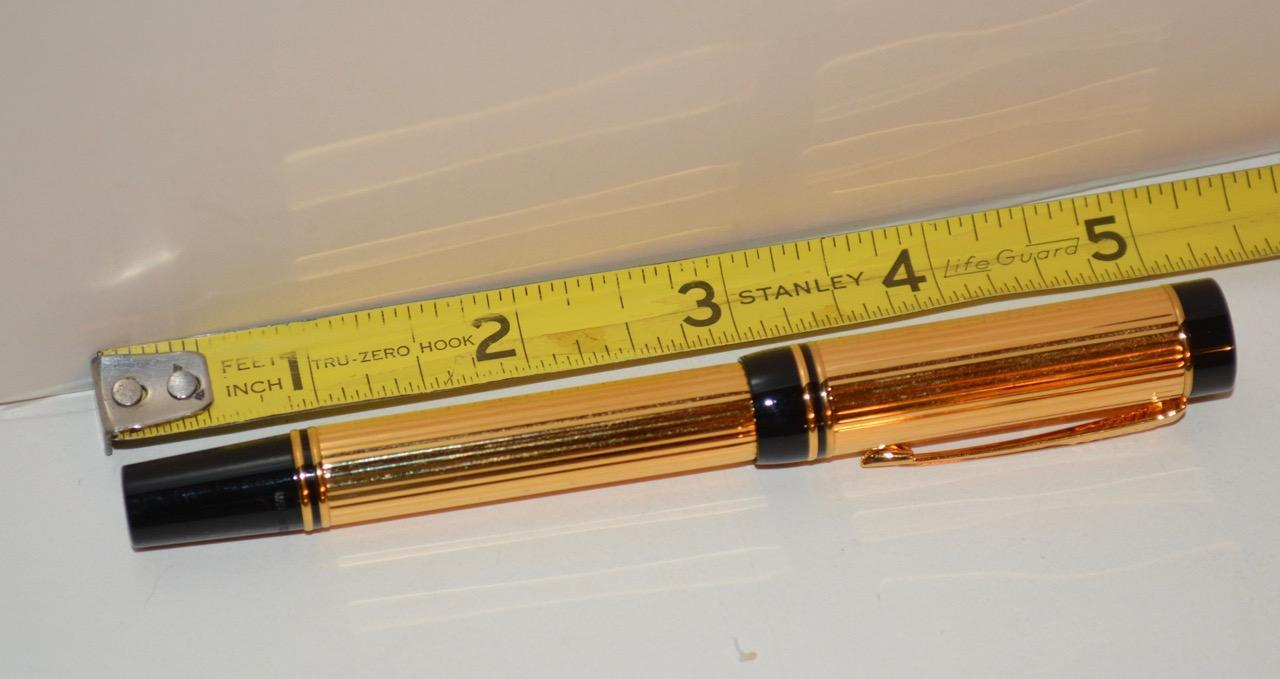 Parker - Duofold International Gold-Plated Rollerball