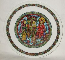 LIMOGES CHRISTMAS COLLECTOR PLATE