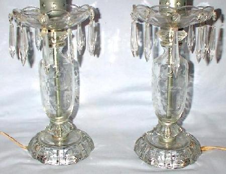 BEAUTIFUL CRYSTAL LAMPS