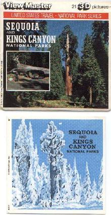 SEQUOIA & KINGS CANYON - VIEWMASTER 3 REEL SET