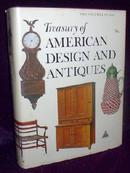 GREAT BOOK - TREASURY OF AMERICAN DESIGN AND ANTIQUES