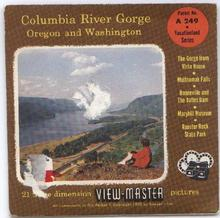COLUMBIA RIVER GORGE - VIEWMASTER 3 REEL PACKET