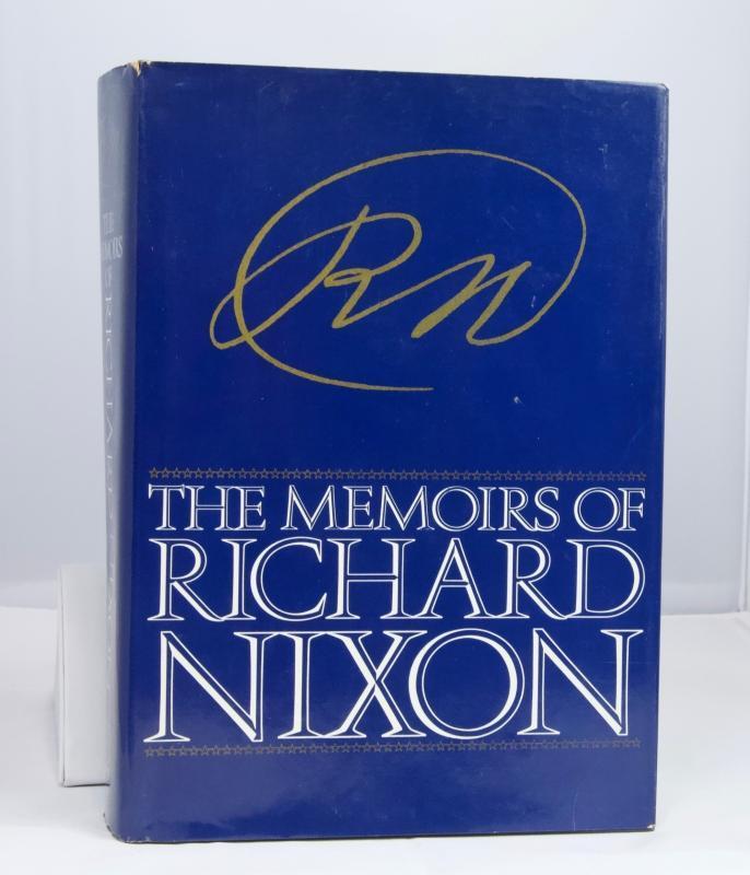 AUTOGRAPHED - The Memoirs of Richard Nixon