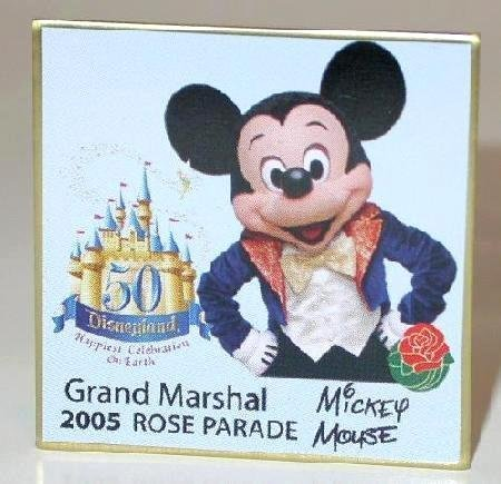2005 ROSE PARADE PIN - LIMITED EDITION MICKEY MOUSE