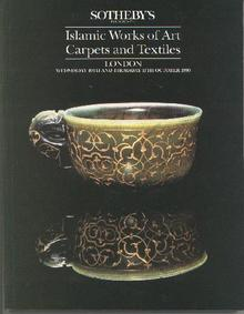 1990 SOTHEBY'S  ISLAMIC WORKS OF ART, CARPETS, & TEXTILES