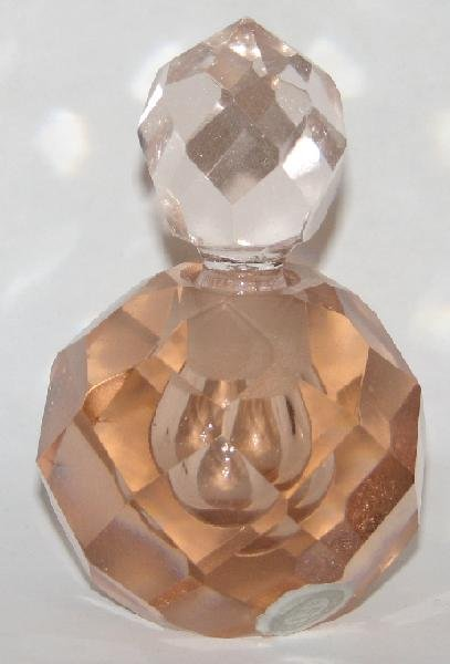 FACETED PERFUME BOTTLE