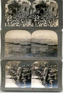 WORLD WAR ONE STEREO VIEWS - SET OF 3
