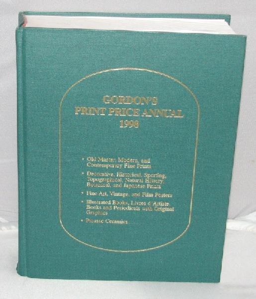 GORDON'S PRINT PRICE ANNUAL