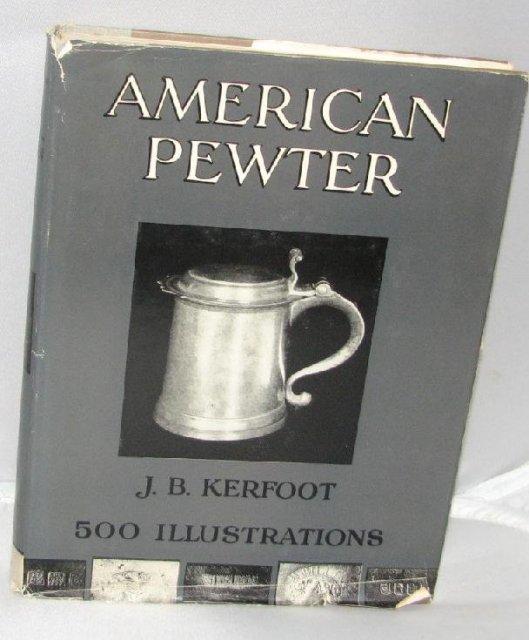 BOOK: AMERICAN PEWTER