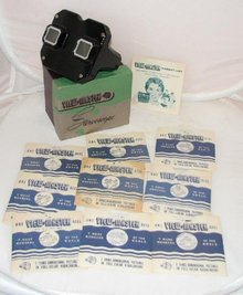 1950s VIEWMASTER WITH CALIFORNIA REELS