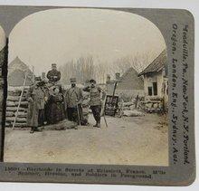 GROUP OF SIX WORLD WAR I STEREOVIEWS