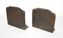 LOVELY BRASS BOOKENDS -
