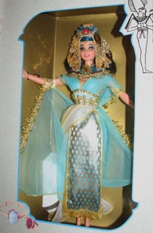 EGYPTIAN QUEEN BARBIE  MIB