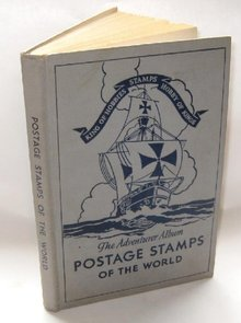 INTERNATIONAL STAMP BOOK: