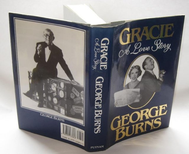 GEORGE BURNS AUTOGRAPHED BOOK -