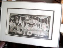 IRVING AMEN COLOR ETCHING -