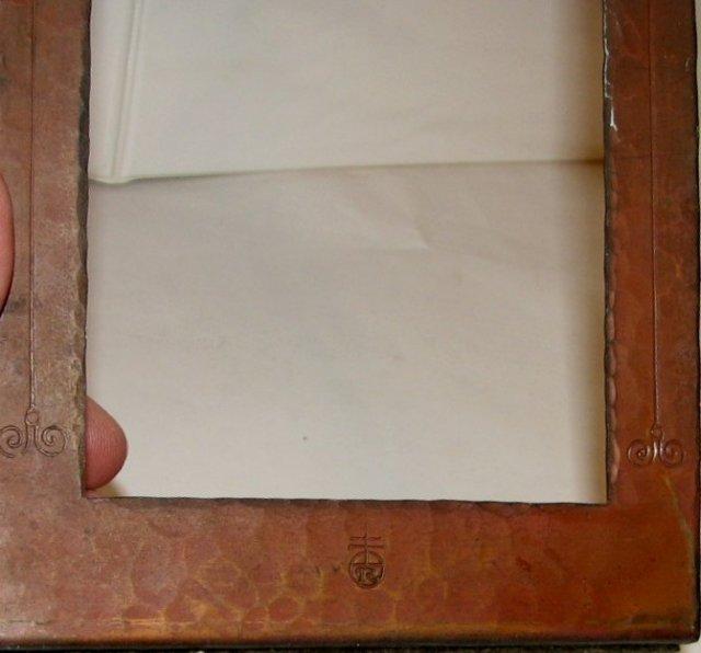 ROYCROFT COPPER BOOKENDS