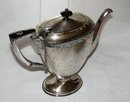 GORGEOUS VINTAGE SILVERPLATE TEAPOT