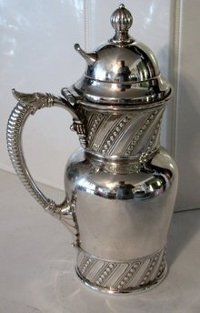 BEAUTIFUL VINTAGE SILVERPLATE CREAMER