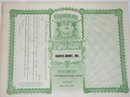 BARCUS-BERRY, INC. - STOCK CERTIFICATE