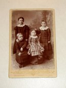 Four Girls from Kansas - CABINET CARD