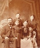 Family of Five - CABINET CARD