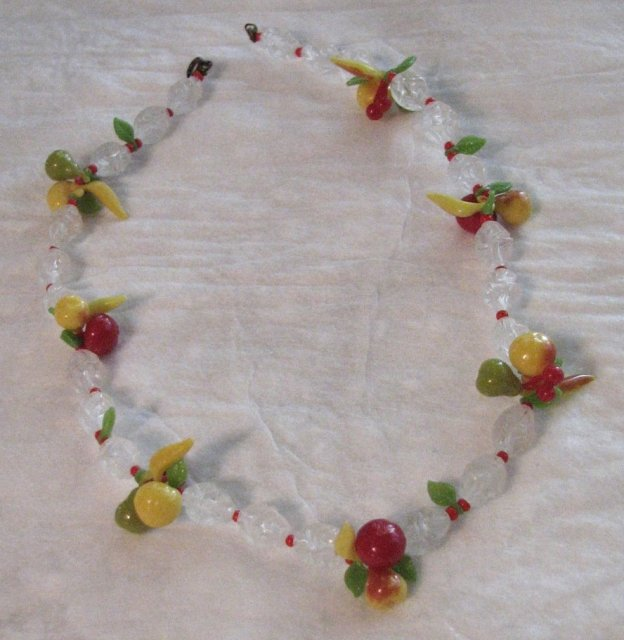 Classic 1940's Tutti Frutti Necklace